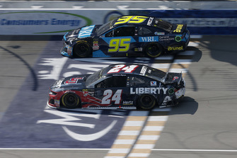William Byron, Hendrick Motorsports, Chevrolet Camaro Liberty University Kasey Kahne, Leavine Family Racing, Chevrolet Camaro WRL General Contractors