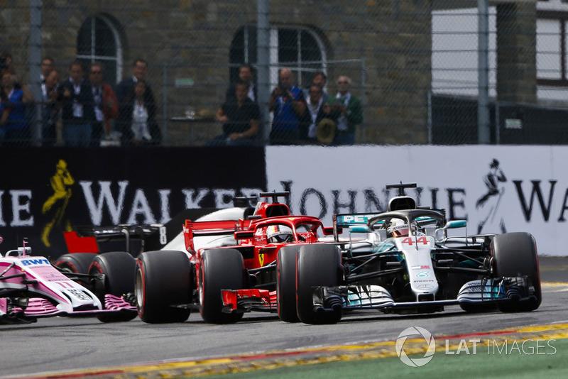 Tweede plaats: Lewis Hamilton