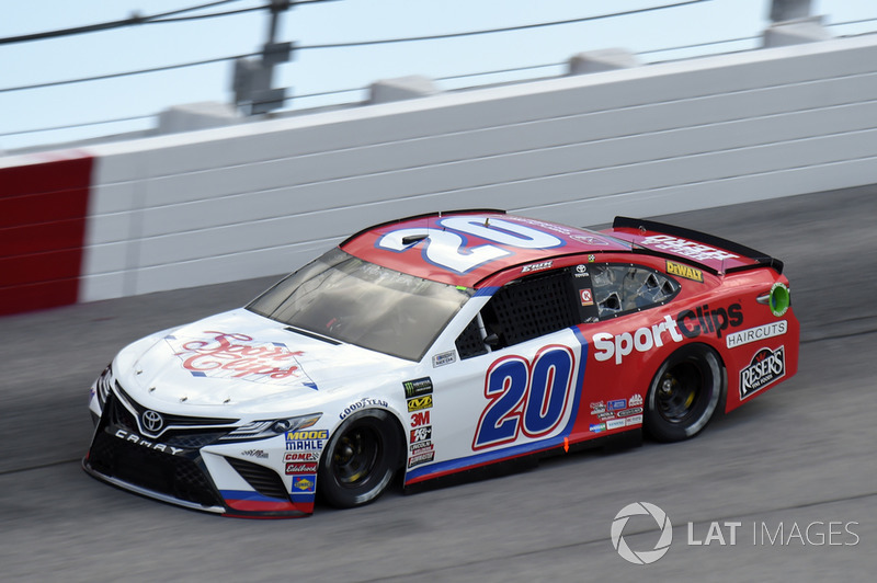Erik Jones, Joe Gibbs Racing, Toyota Camry Sport Clips Throwback