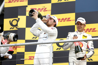 Podium: Race winner Daniel Juncadella, Mercedes-AMG Team HWA