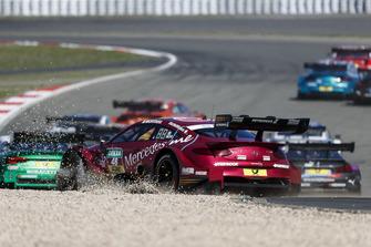 Edoardo Mortara, Mercedes-AMG Team HWA, Mercedes-AMG C63 DTM in het grind