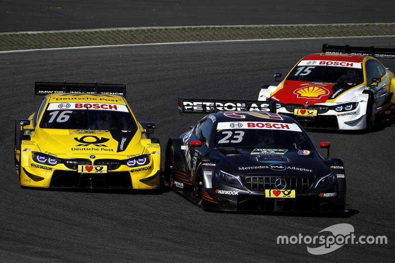 Timo Glock, BMW Team RMG, BMW M4 DTM, Daniel Juncadella, Mercedes-AMG Team HWA, Mercedes-AMG C63 DTM
