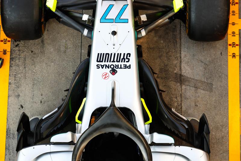 Car of Valtteri Bottas, Mercedes AMG F1 W09