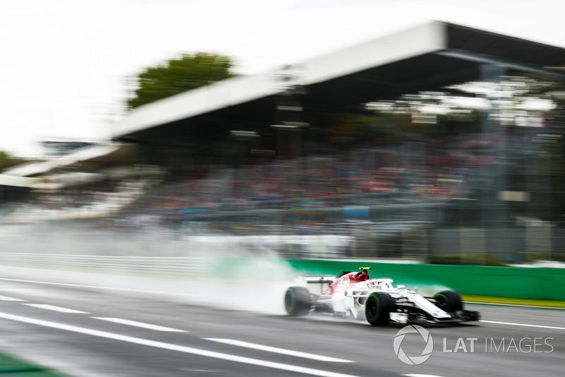 9. Charles Leclerc, Sauber C37