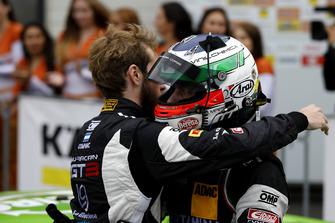 winners #19 GRT Grasser Racing Team Lamborghini Huracán GT3: Ezequiel Perez Companc, Franck Perera