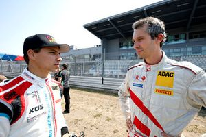 #18 KÜS Team75 Bernhard Porsche 911 GT3 R: Klaus Bachler and #14 MRS GT-Racing BMW M6 GT3: Christopher Zöchling