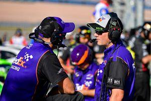 Denny Hamlin, Joe Gibbs Racing, Toyota Camry FedEx Ground, Michael Wheeler