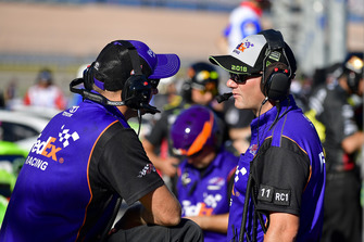 Denny Hamlin, Joe Gibbs Racing, Toyota Camry FedEx Ground, Michael Wheeler