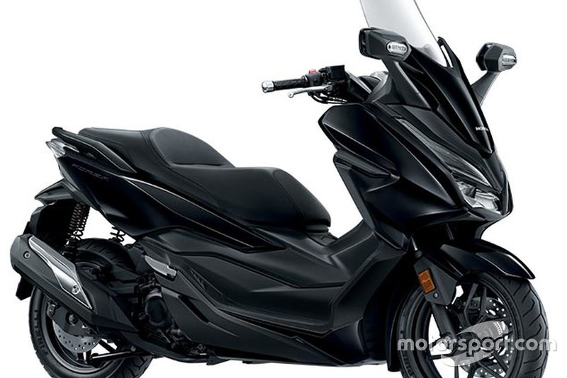Honda Forza-Mat Gunpowder Black Metallic