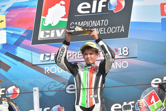 Podio 125: il vincitore Filippo Bianchi
