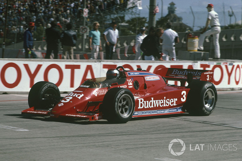 1984 Long Beach, Mario Andretti, Lola T800 Cosworth