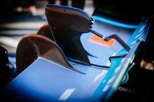 Mercedes AMG F1 W10, dettaglio del DRS