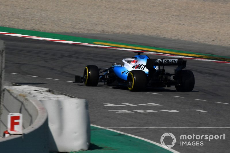 Robert Kubica, Williams FW42, in testacoda