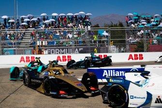 Andre Lotterer, DS TECHEETAH, DS E-Tense FE19 Nelson Piquet Jr., Jaguar Racing, Jaguar I-Type 3, Gary Paffett, HWA Racelab, VFE-05
