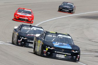 Vinnie Miller, B.J. McLeod Motorsports, Chevrolet Camaro Koobox and Matt Mills, B.J. McLeod Motorsports, Chevrolet Camaro J.F. Electric