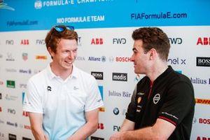 Oliver Turvey, NIO Formula E Team, with Oliver Rowland, Nissan e.Dams