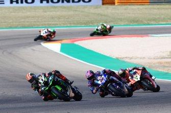 Jonathan Jonathan Rea, Kawasaki Racing, Alex Lowes, Pata Yamaha, Chaz Davies, Aruba.it Racing-Ducati Team