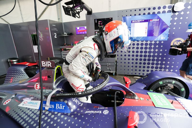 Sam Bird, Envision Virgin Racing sube a su Audi e-tron FE05