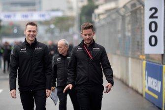 Maximilian Günther, Dragon Racing, ispeziona il tracciato