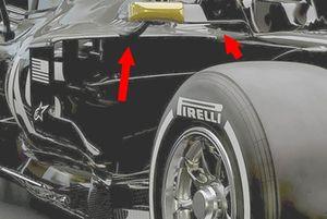 Haas F1 VF-19 ayna