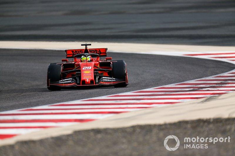 Мик Шумахер, Ferrari SF90