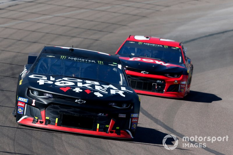 Kurt Busch, Chip Ganassi Racing, Chevrolet Camaro Global Poker, Austin Dillon, Richard Childress Racing, Chevrolet Dow