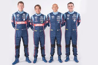 Nick Catsburg, Augusto Farfus, Gabriele Tarquini, Norbert Michelisz, Hyundai BRC Team