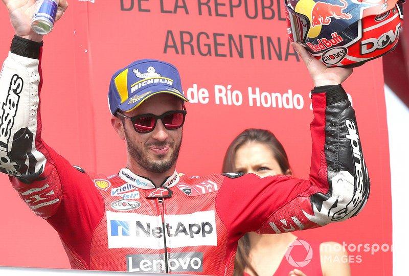 Podio: tercero, Andrea Dovizioso, Ducati Team