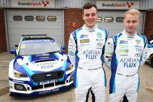 Ash Sutton, Team BMR Subaru Levorg and Senna Proctor, Team BMR Subaru Levorg
