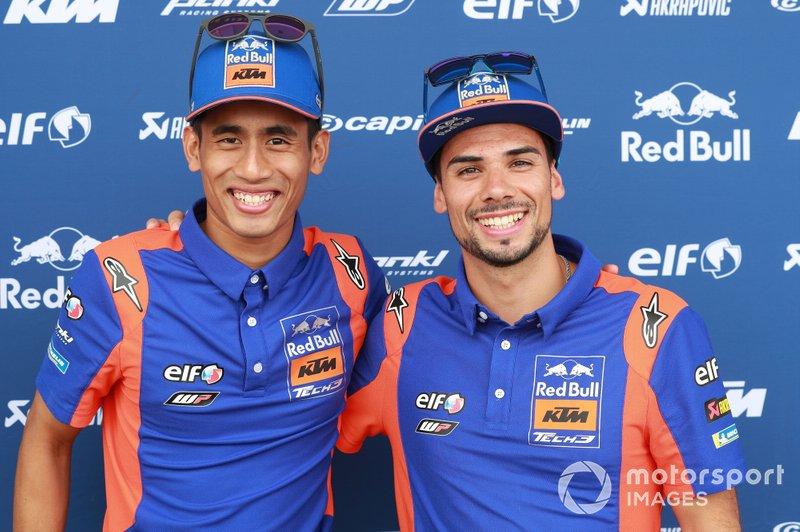 Hafizh Syahrin, Red Bull KTM Tech 3, Miguel Oliveira, Red Bull KTM Tech 3