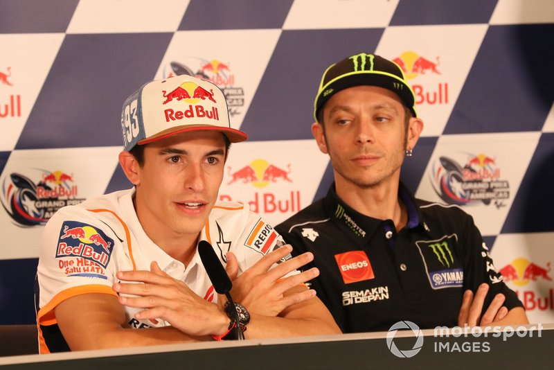 Marc Marquez, Repsol Honda Team, Valentino Rossi, Yamaha Factory Racing, Press Conference