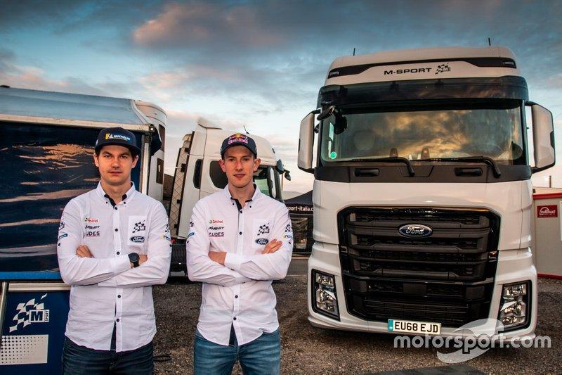 Teemu Suninen, M-Sport Ford WRT, Elfyn Evans, M-Sport Ford WRT