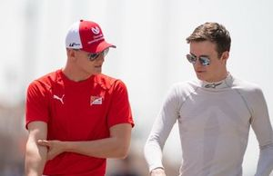 Mick Schumacher, PREMA RACING ve Callum Ilott, SAUBER JUNIOR TEAM BY CHAROUZ