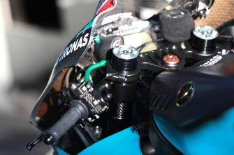 La moto de Franco Morbidelli, Petronas Yamaha SRT