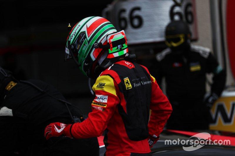 #66 JMW Motorsport Ferrari F488 GTE: Matteo Cressoni