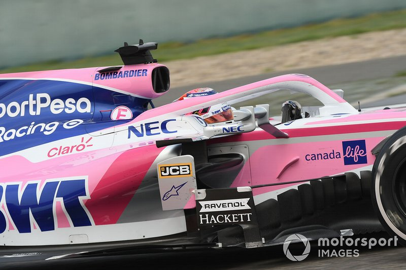 Sergio Perez - Racing Point: 10 puan