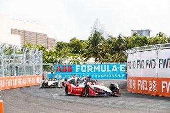 Pascal Wehrlein, Mahindra Racing, M5 Electro, Lucas Di Grassi, Audi Sport ABT Schaeffler, Audi e-tron FE05, Edoardo Mortara, Venturi Formula E, Venturi VFE05