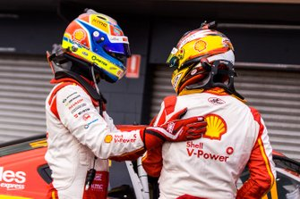1. Scott McLaughlin, DJR Team Penske Ford, 2. Fabian Coulthard, DJR Team Penske Ford