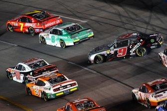Noah Gragson, JR Motorsports, Chevrolet Camaro Switch spins