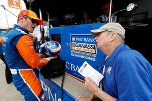 Scott Dixon, Chip Ganassi Racing Honda, Robin Miller