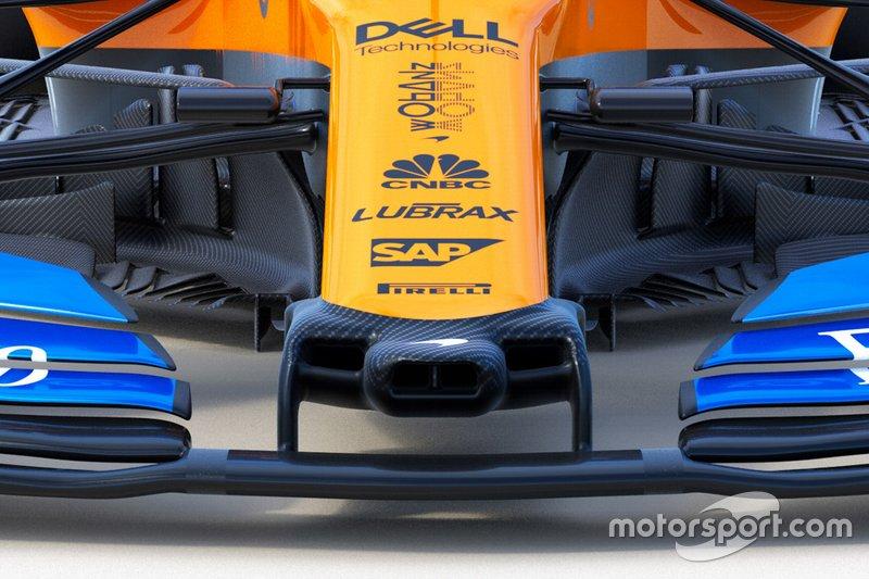 McLaren MCL34 detail