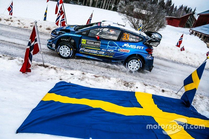 Elfyn Evans, Scott Martin, Ford Fiesta WRC, M-Sport Ford