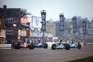 Mike Hailwood, Surtees TS9, Francois Cevert, Tyrrell 002 Ford, Chris Amon, Matra MS120B
