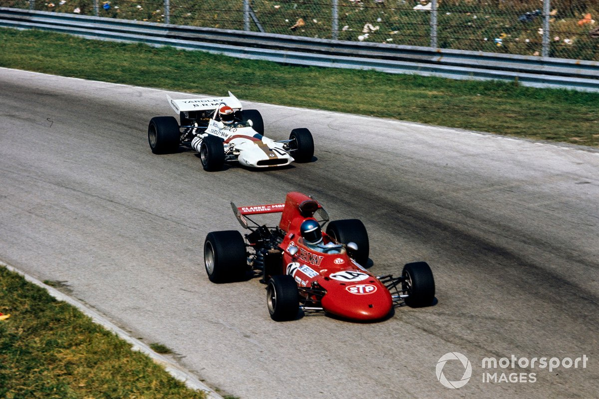 Mike Beuttler, March 711 Ford, Dr. Helmut Marko, BRM P153