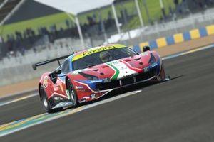 Charles Leclerc e Antonio Giovinazzi, Ferrari 488 GTE