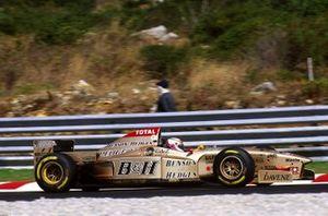 Martin Brundle, Jordan 196 Peugeot