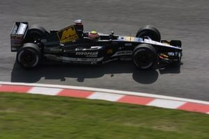 Alex Yoong, Minardi PS01