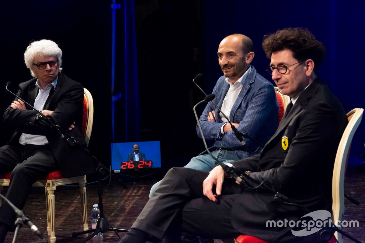 Motor Valley Fest Digital Roberto Dalla, Claudio Domenicali e Mattia Binotto