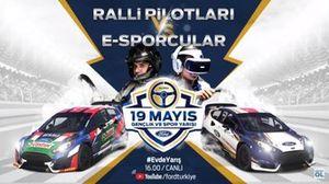 Ralli Pilotları vs eSpor yarışçıları