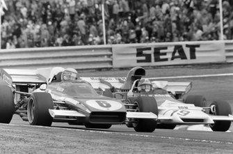 Clay Regazzoni, Ferrari 312B2, Jean-Pierre Beltoise, BRM P160B